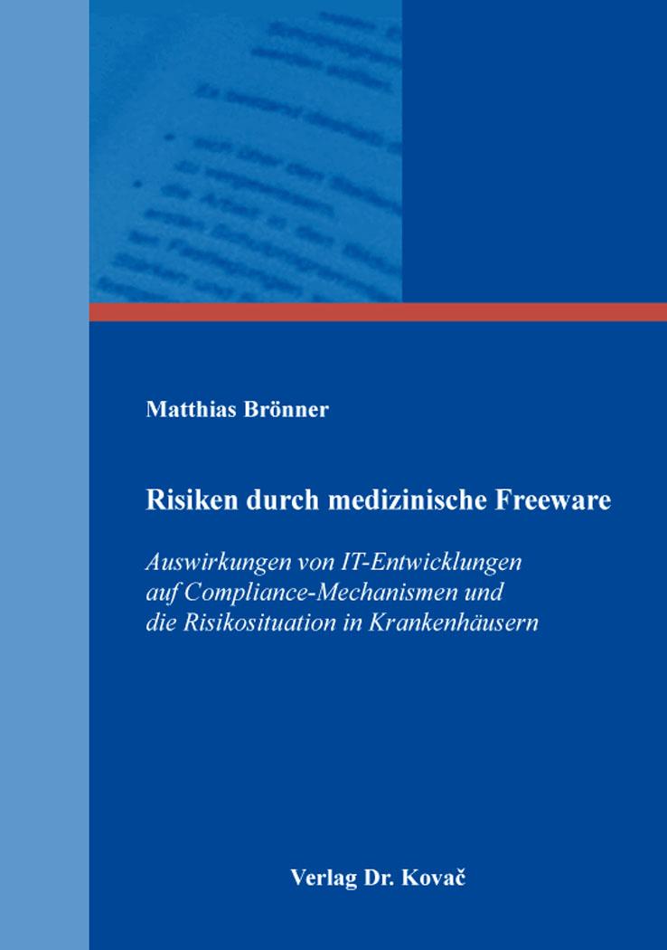 Cover: Risiken durch medizinische Freeware