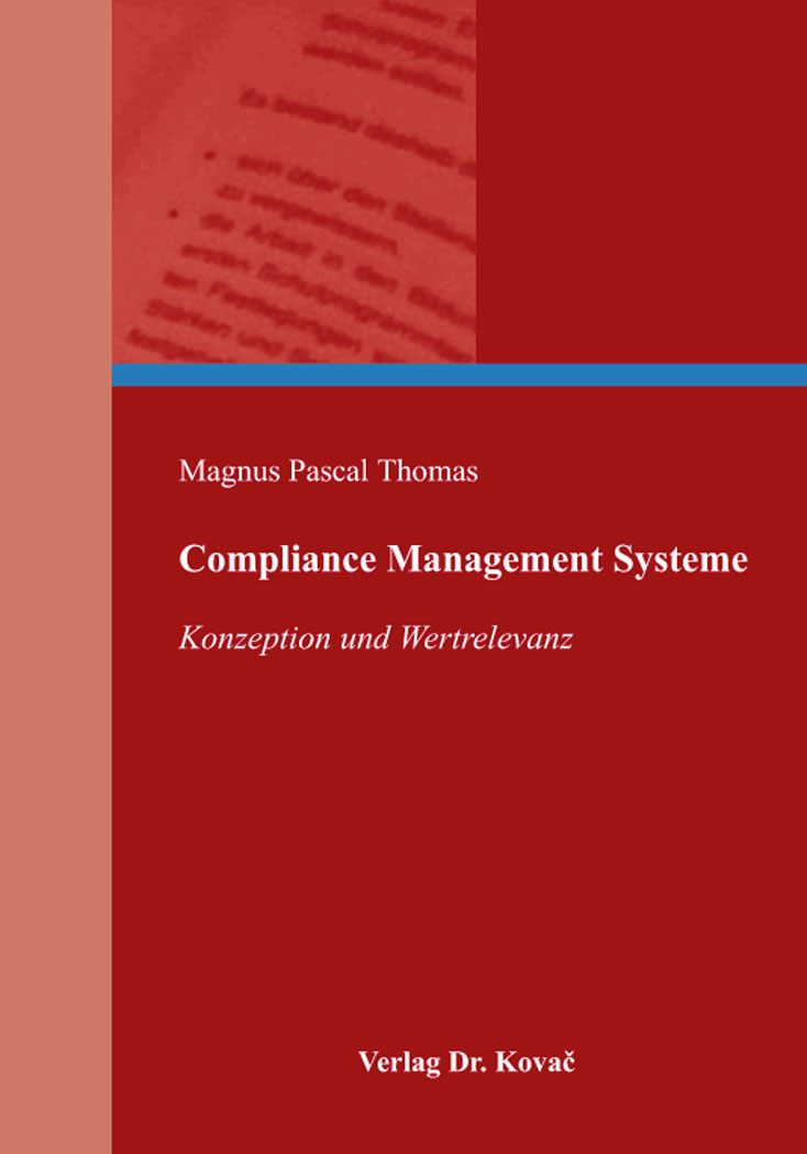 Cover: Compliance Management Systeme