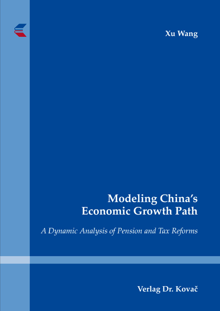 Cover: Modeling China's Economic Growth Path