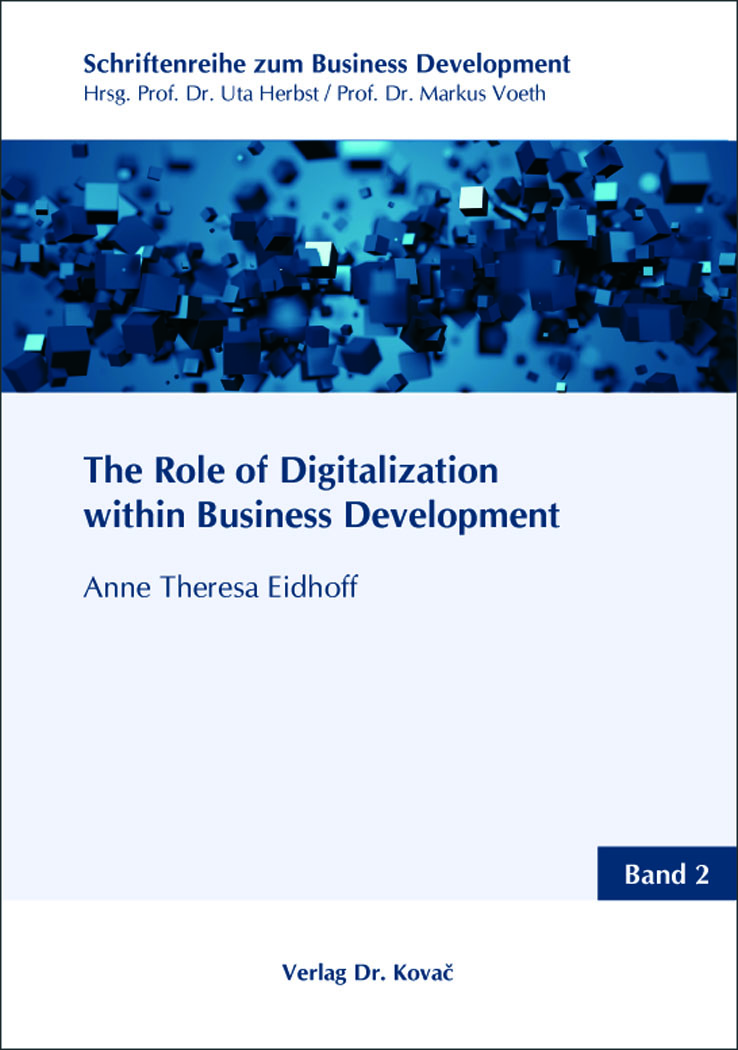 Cover: The Role of Digitalization within Business Development