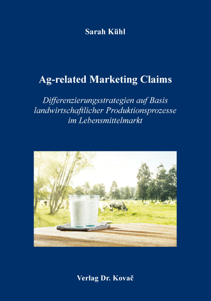 Cover: Ag-related Marketing Claims