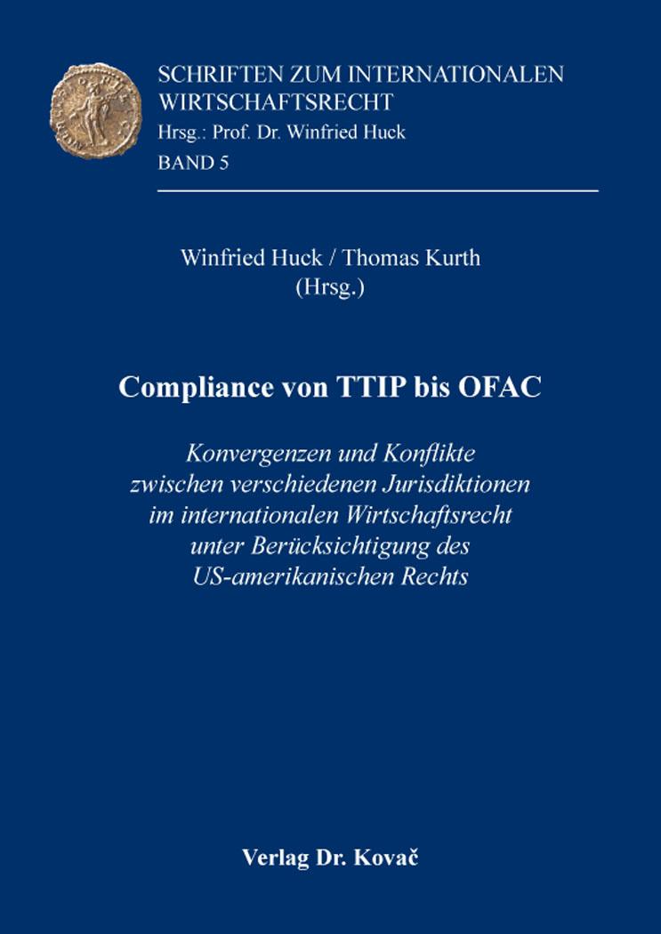 Cover: Compliance von TTIP bis OFAC