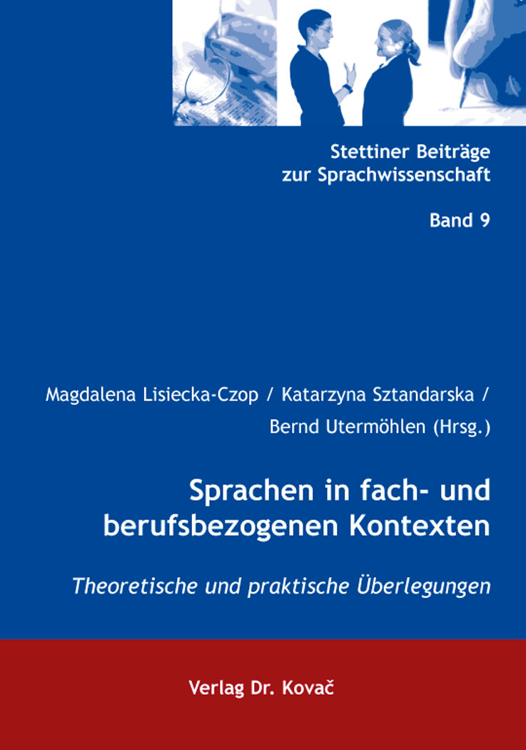 Cover: Sprachen in fach- und berufsbezogenen Kontexten