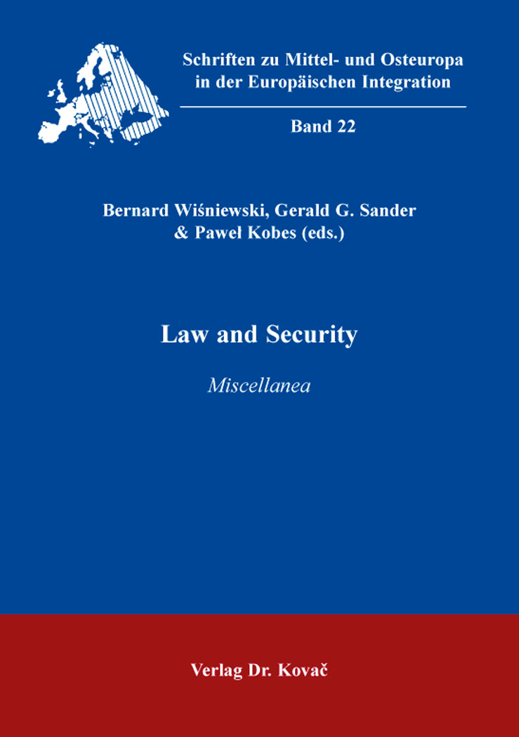 Cover: Law and Security