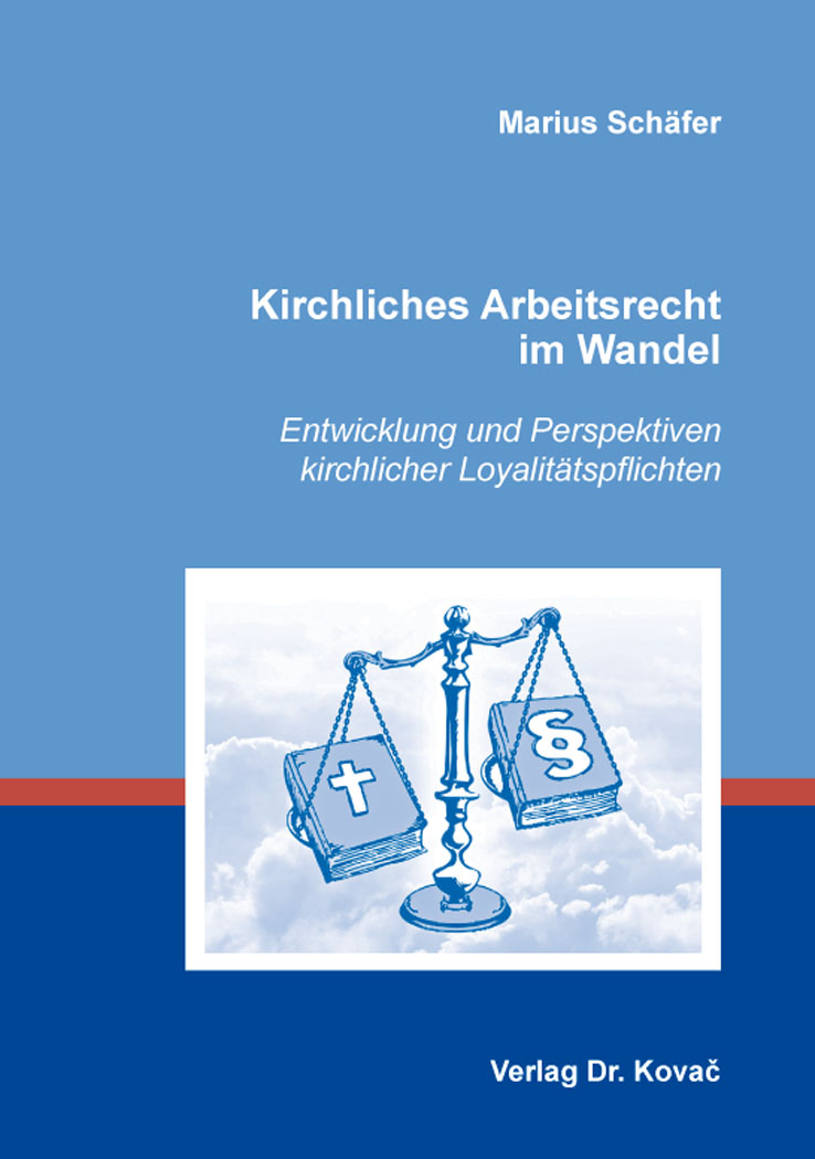 Cover: Kirchliches Arbeitsrecht im Wandel