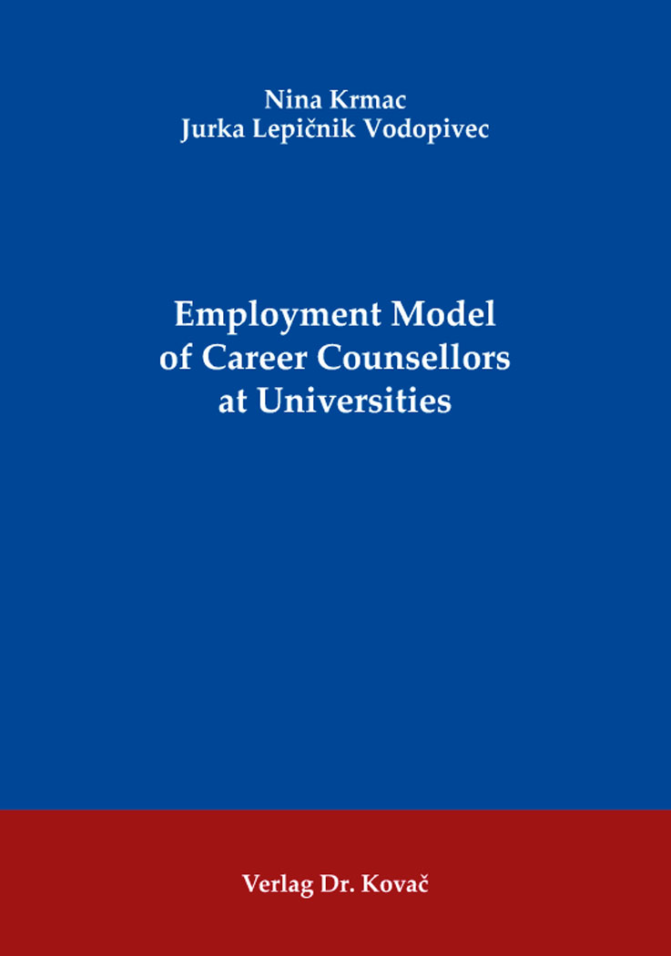 Cover: Employment Model of Career Counsellors at Universities