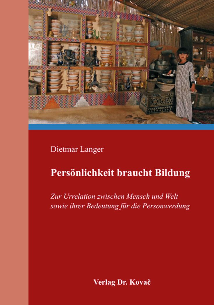 Cover: Persönlichkeit braucht Bildung