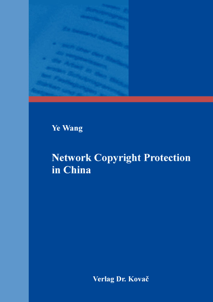 Cover: Network Copyright Protection in China