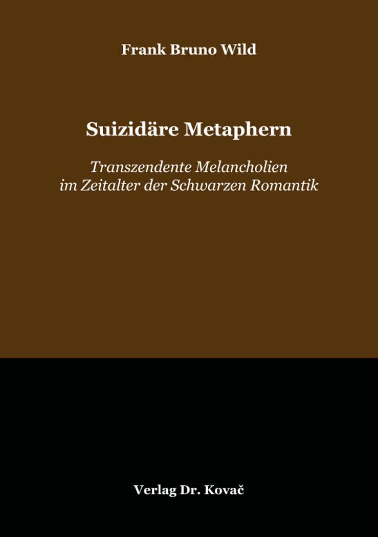 Cover: Suizidäre Metaphern