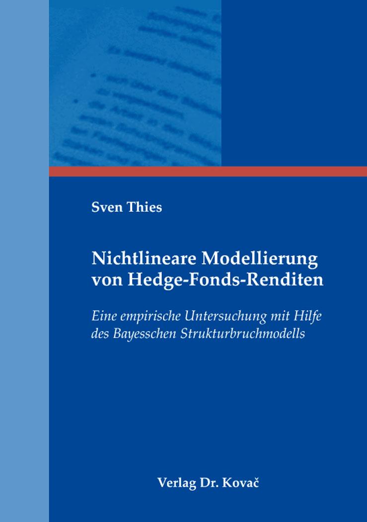 Cover: Nichtlineare Modellierung von Hedge-Fonds-Renditen