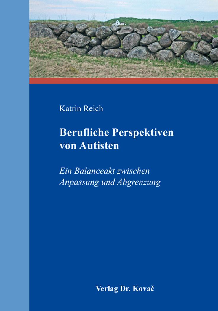 Cover: Berufliche Perspektiven von Autisten