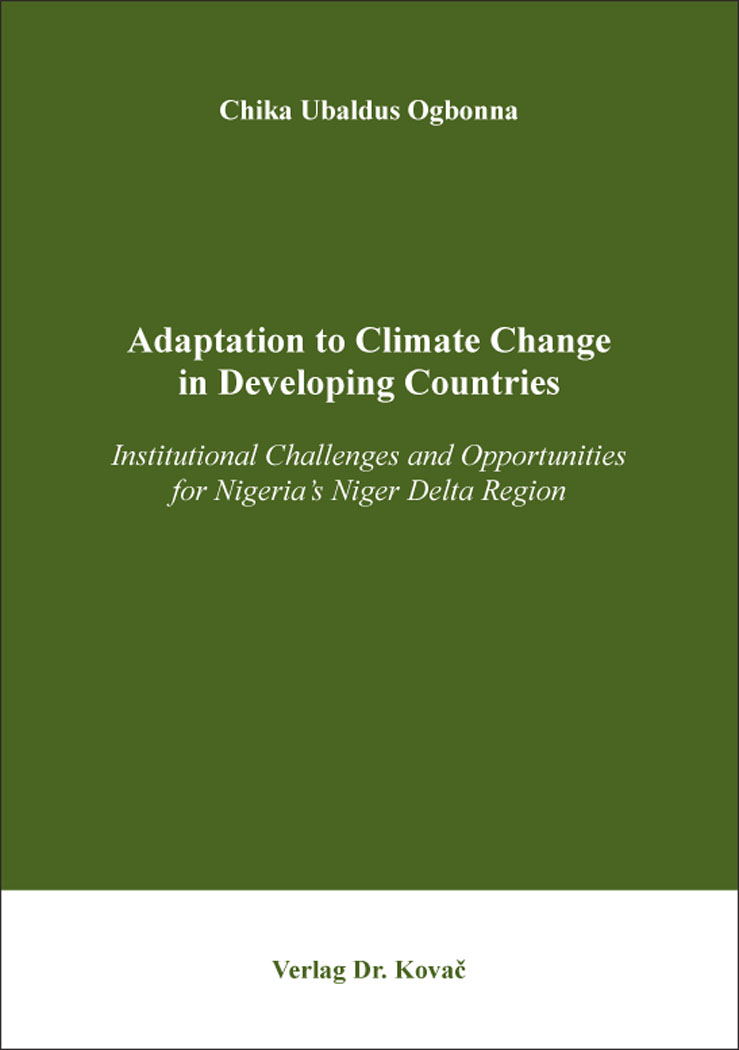 Cover: Adaptation to Climate Change in Developing Countries