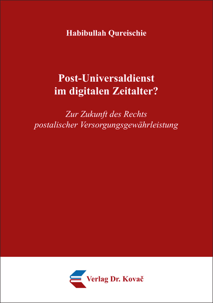 Cover: Post-Universaldienst im digitalen Zeitalter?