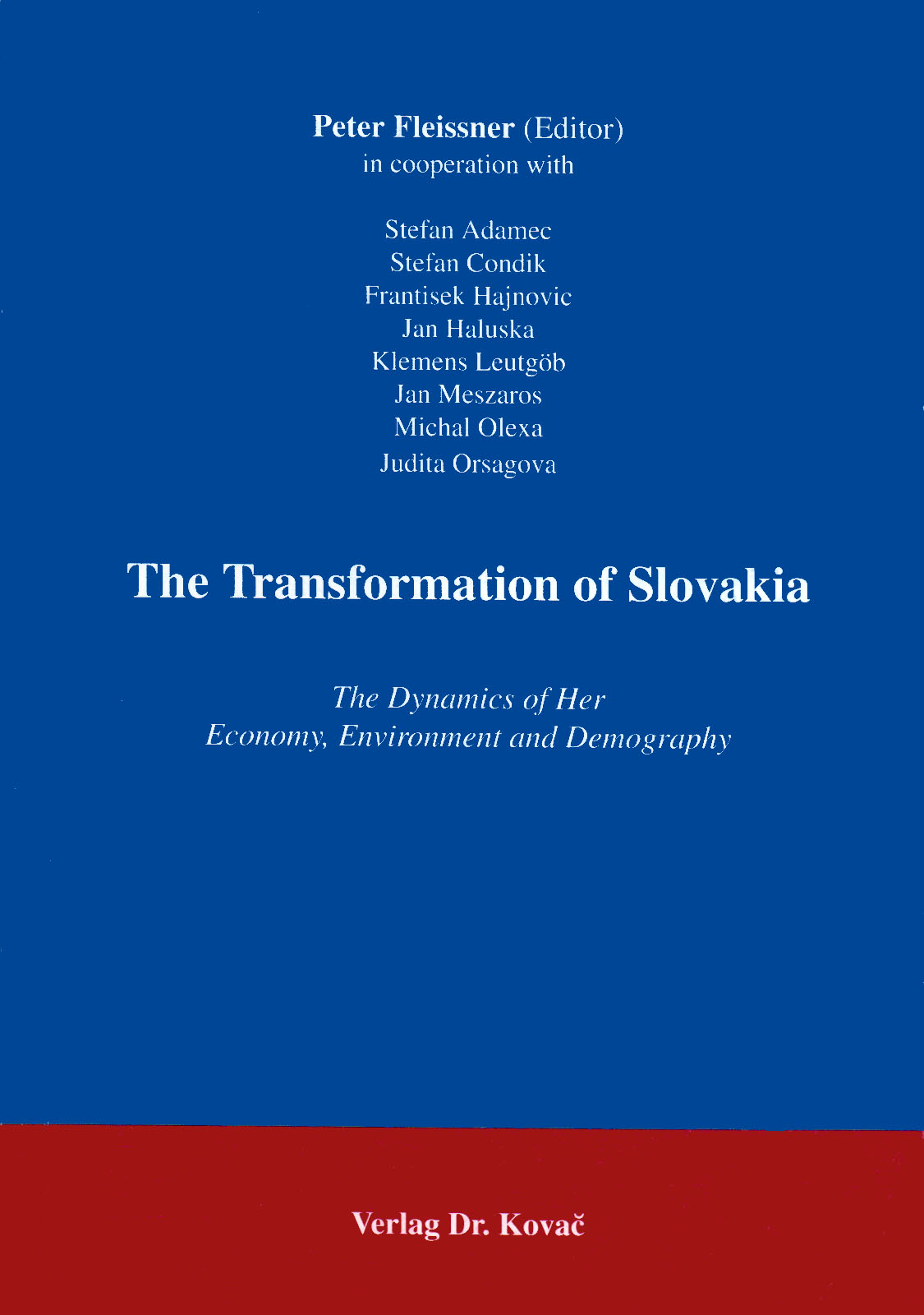 Cover: The Transformation of Slovakia
