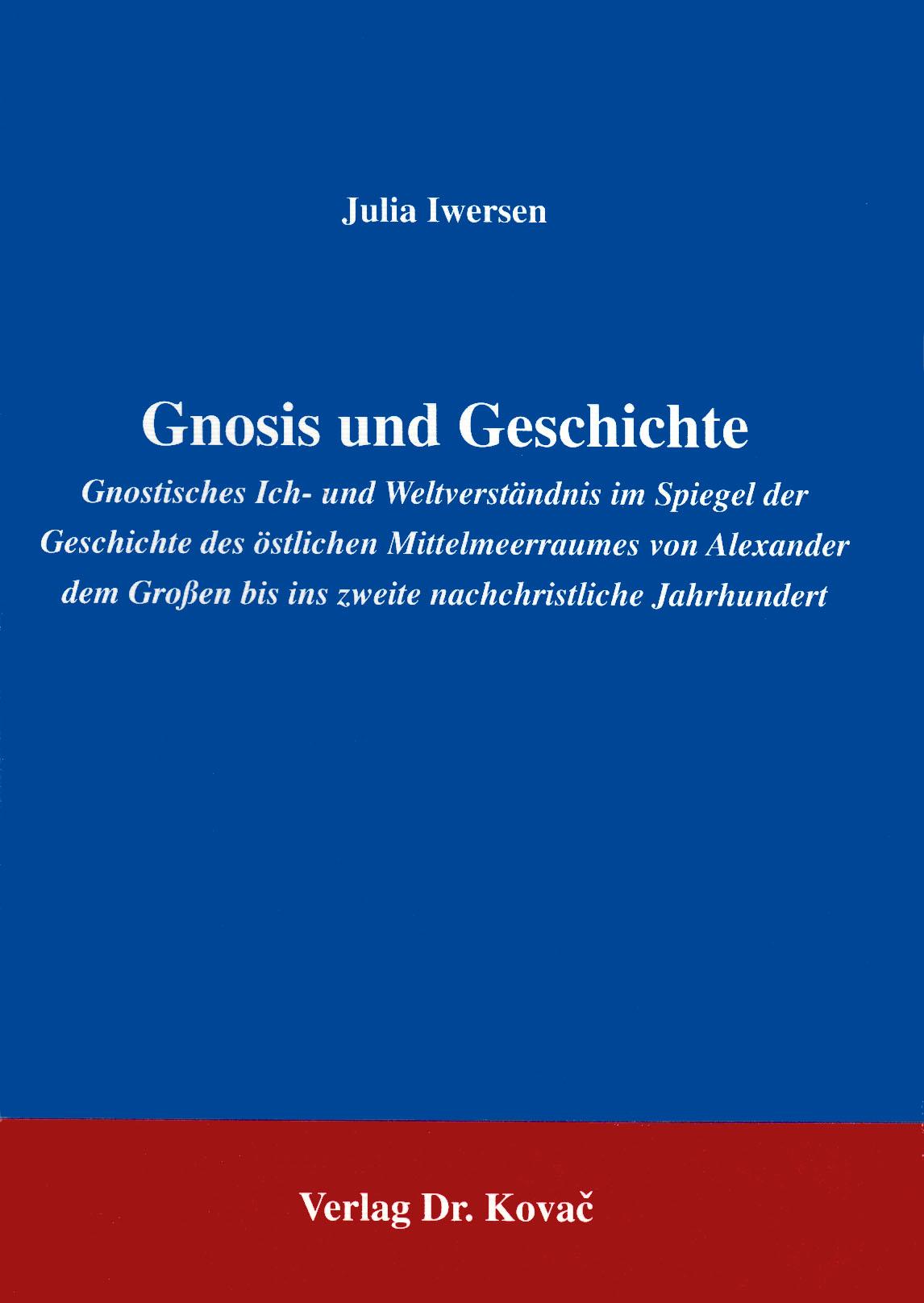 Cover: Gnosis und Geschichte