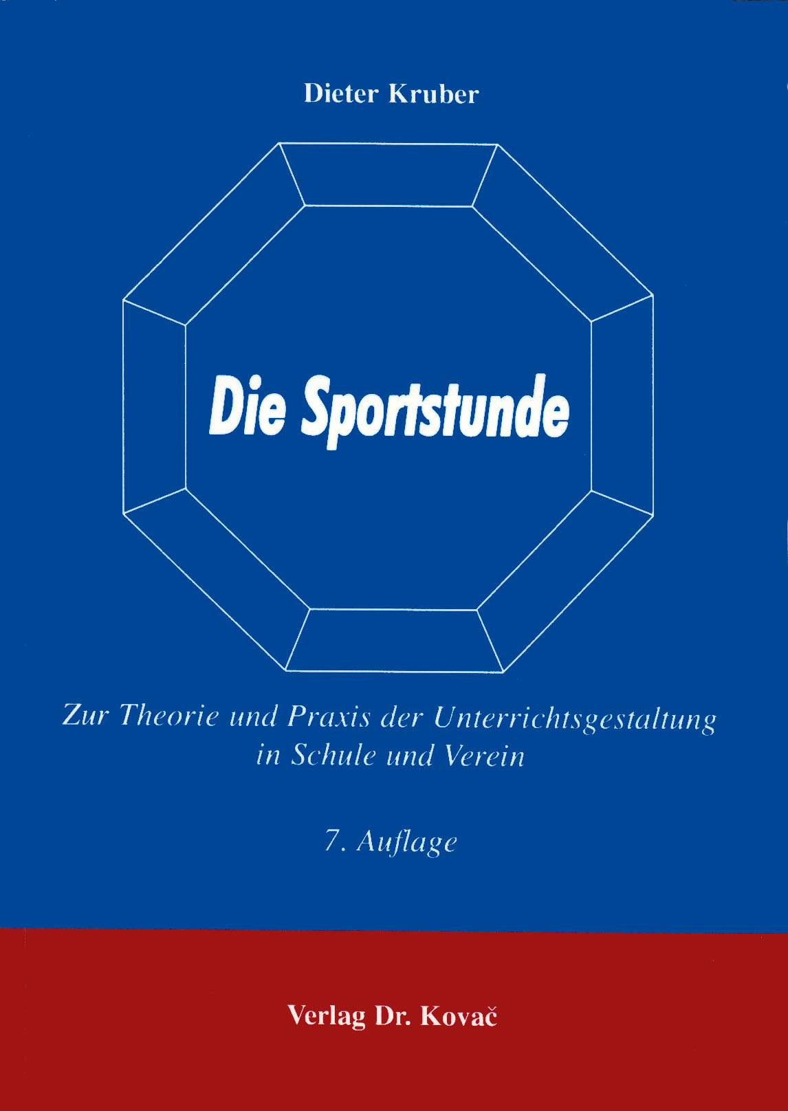 Cover: Die Sportstunde