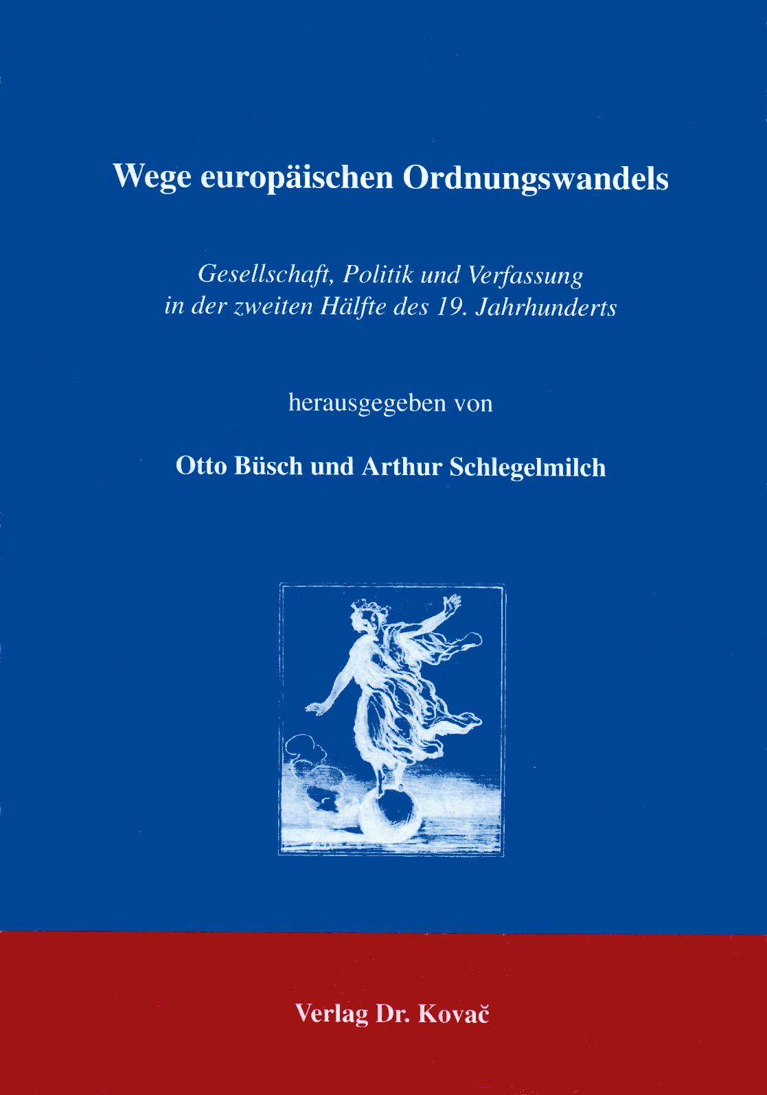 Cover: Wege europäischen Ordnungswandels