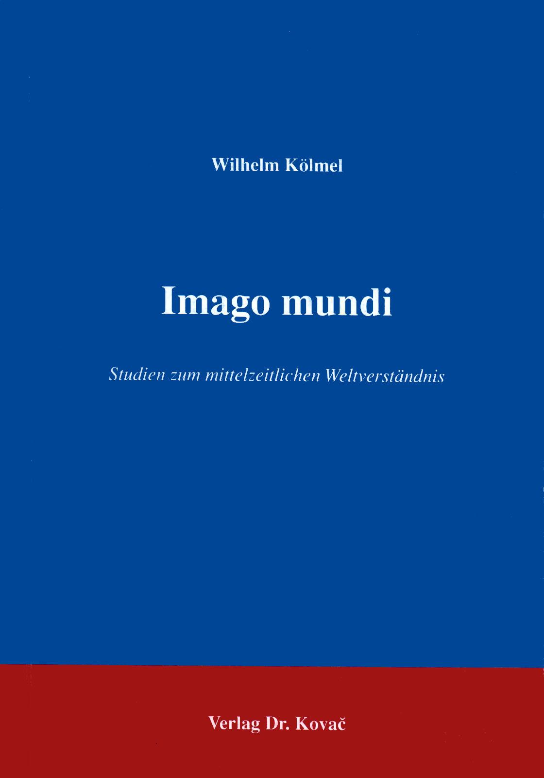 Cover: Imago mundi