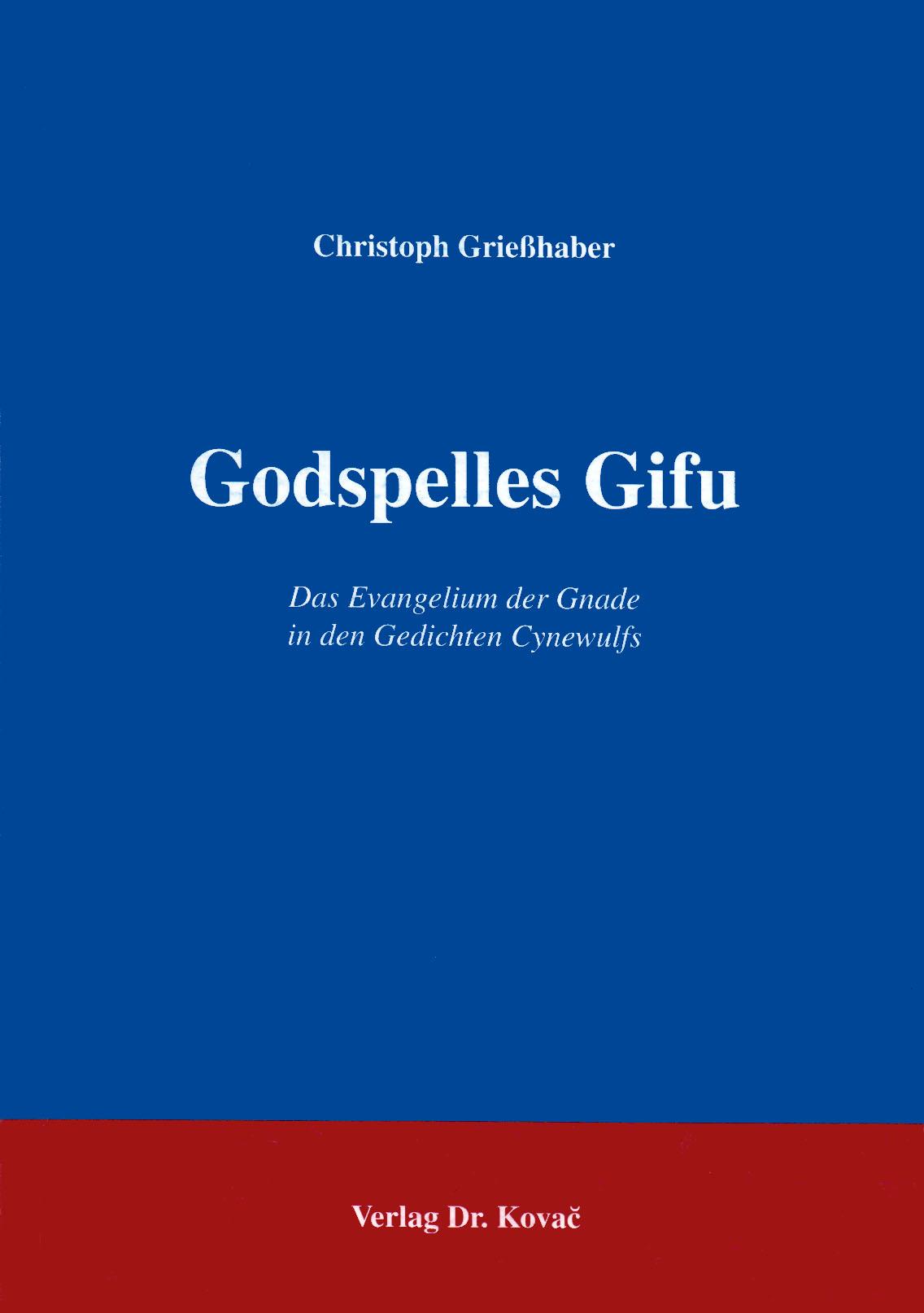 Cover: Godspelles Gifu