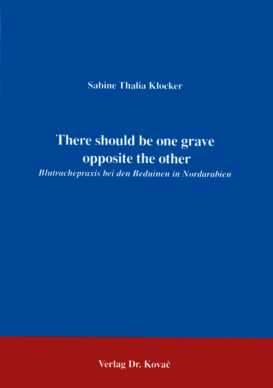 Cover: There should  be one grave opposite the other