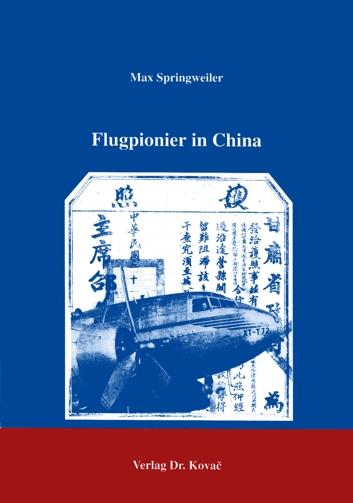 Cover: Flugpionier in China
