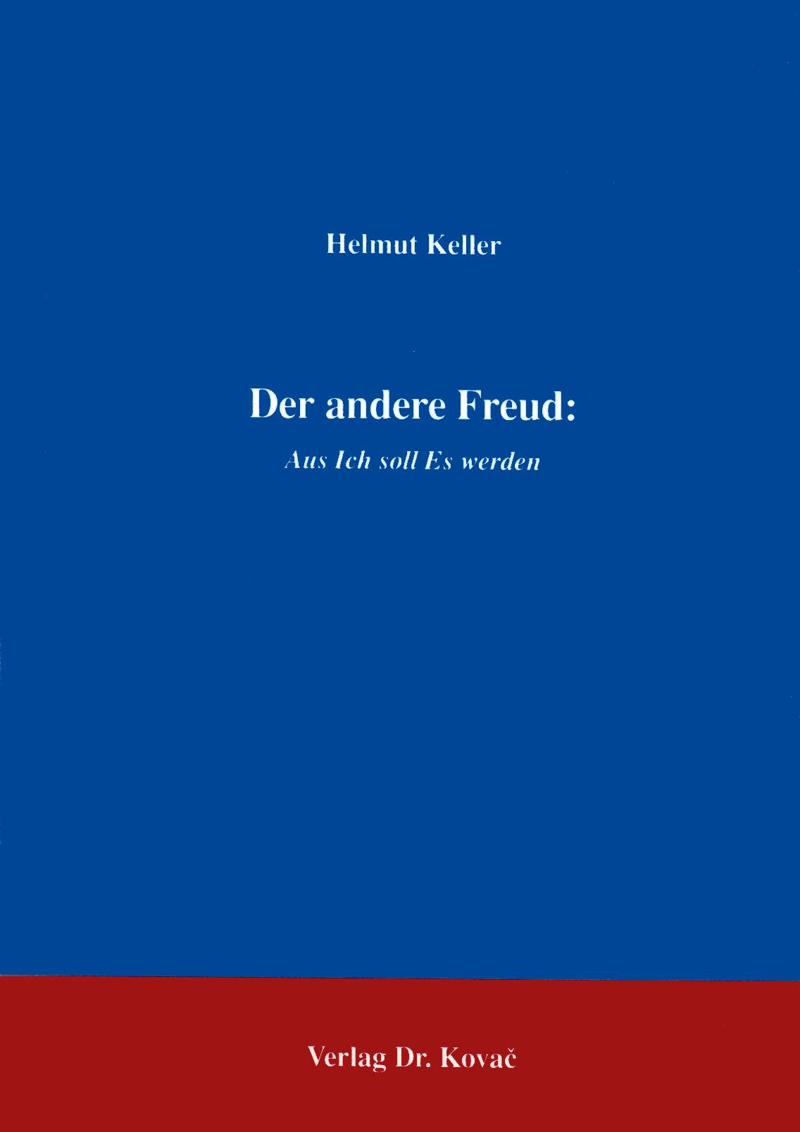 Cover: Der andere Freud