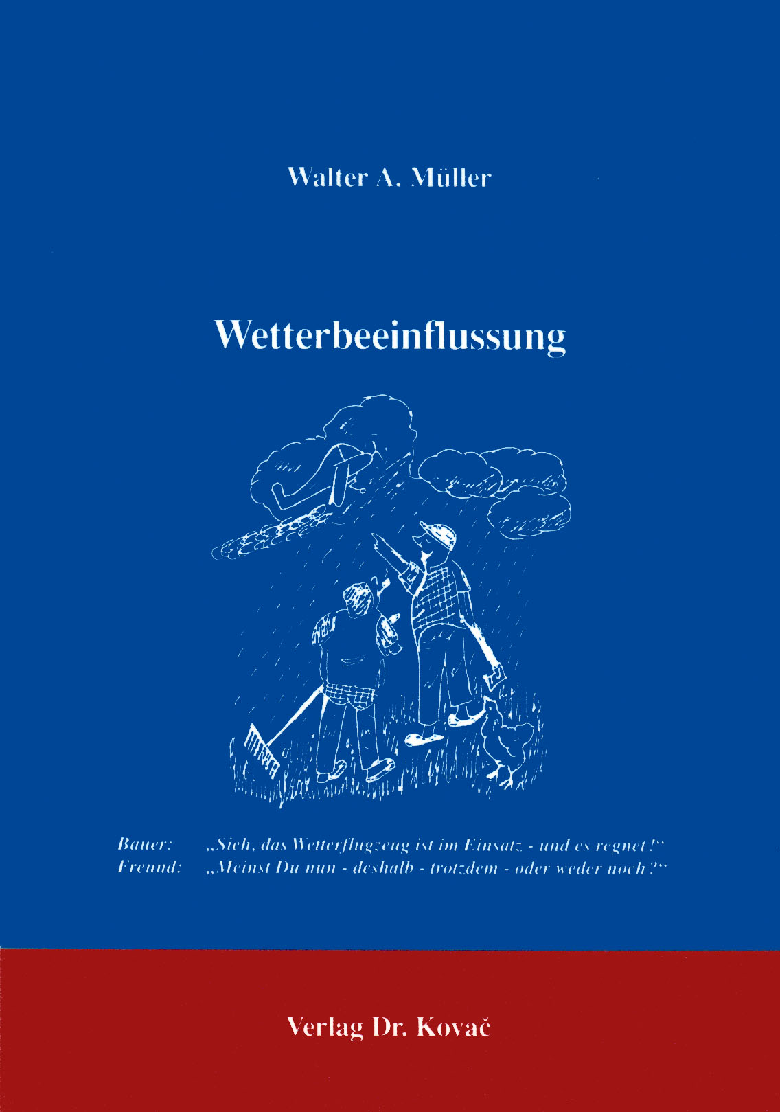Cover: Wetterbeeinflussung