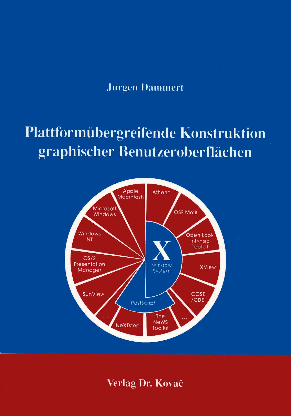 Cover: Plattformübergreifende Konstruktion graphischer Benutzeroberflächen