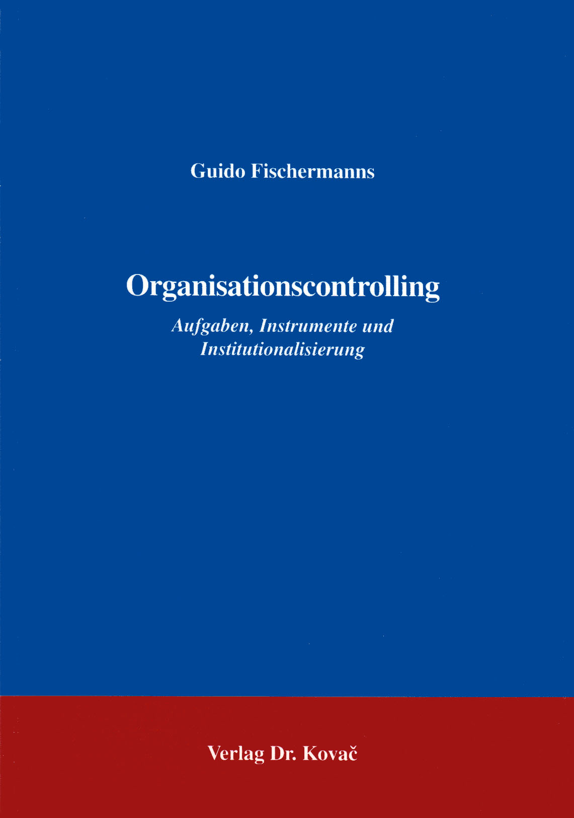 Cover: Organisationscontrolling