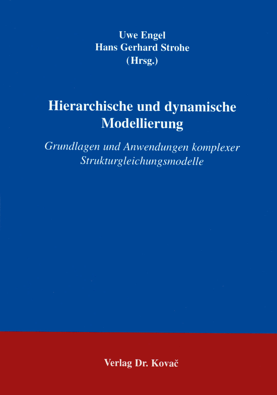 Cover: Hierarchische und dynamische Modellierung