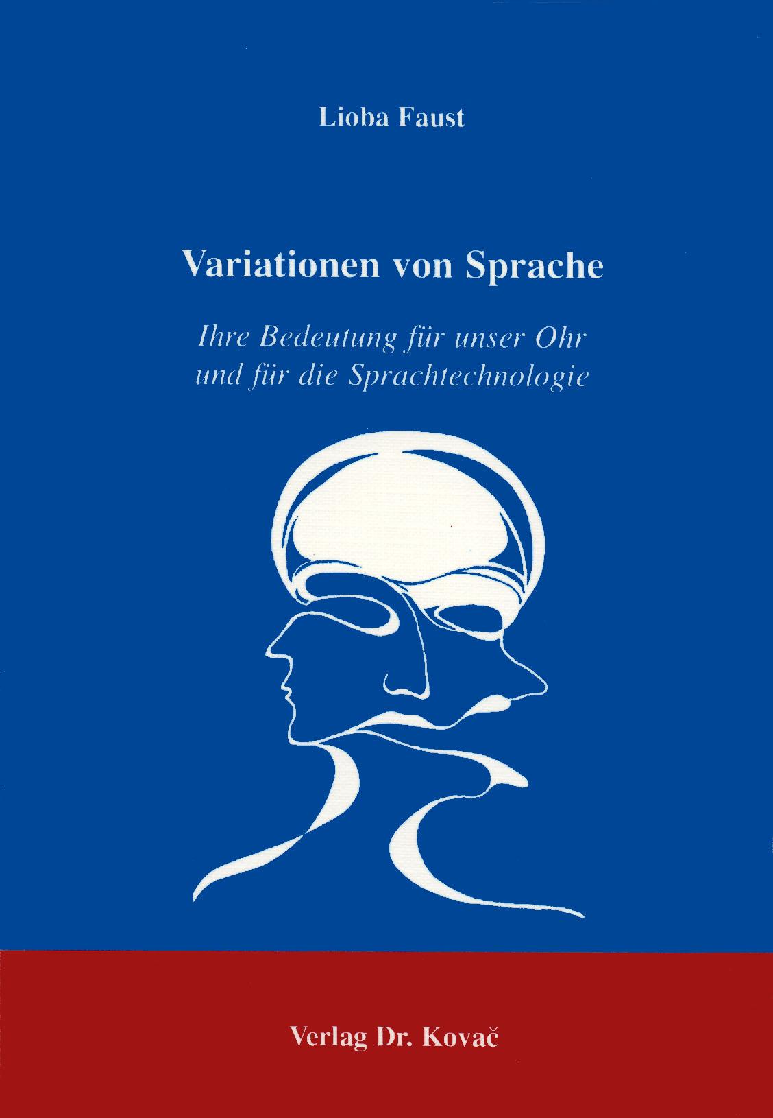 Cover: Variationen von Sprache