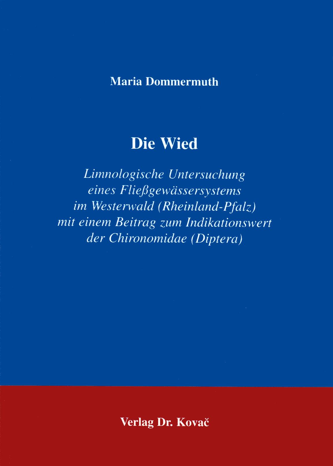 Cover: Die Wied