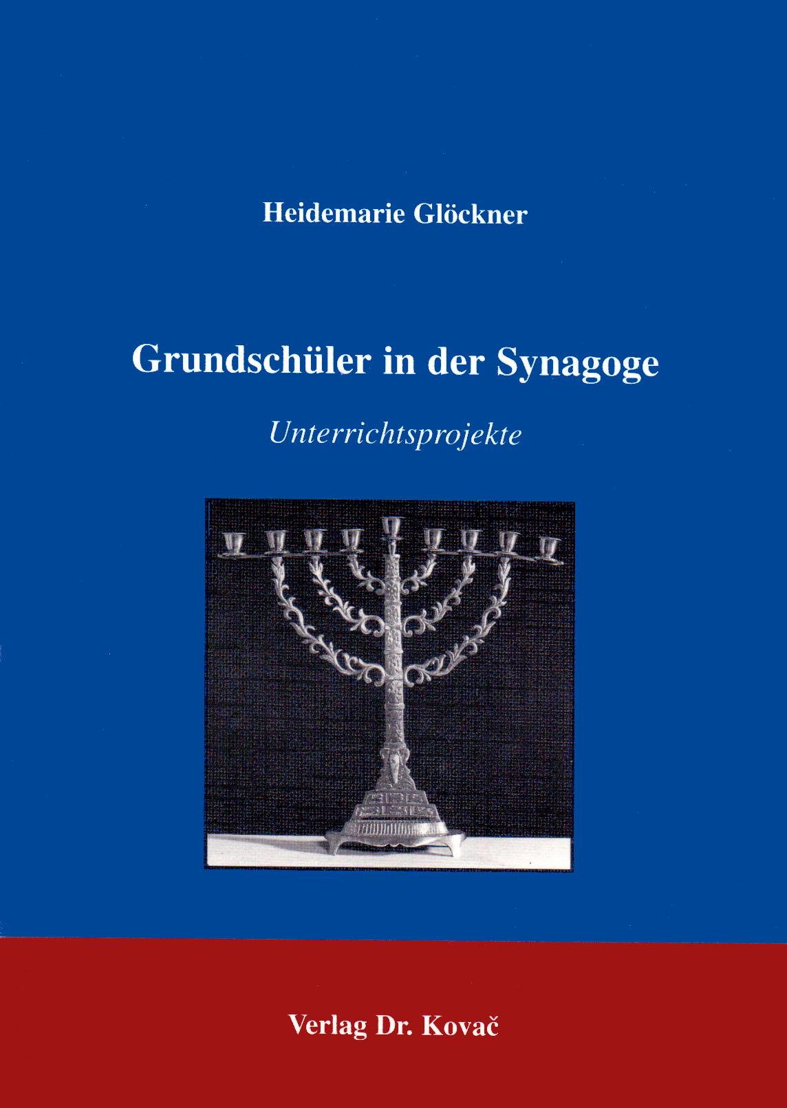 Cover: Grundschüler in der Synagoge