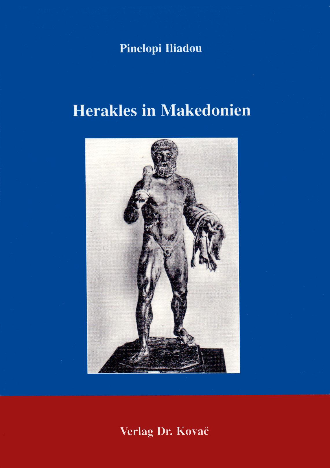 Cover: Herakles in Makedonien
