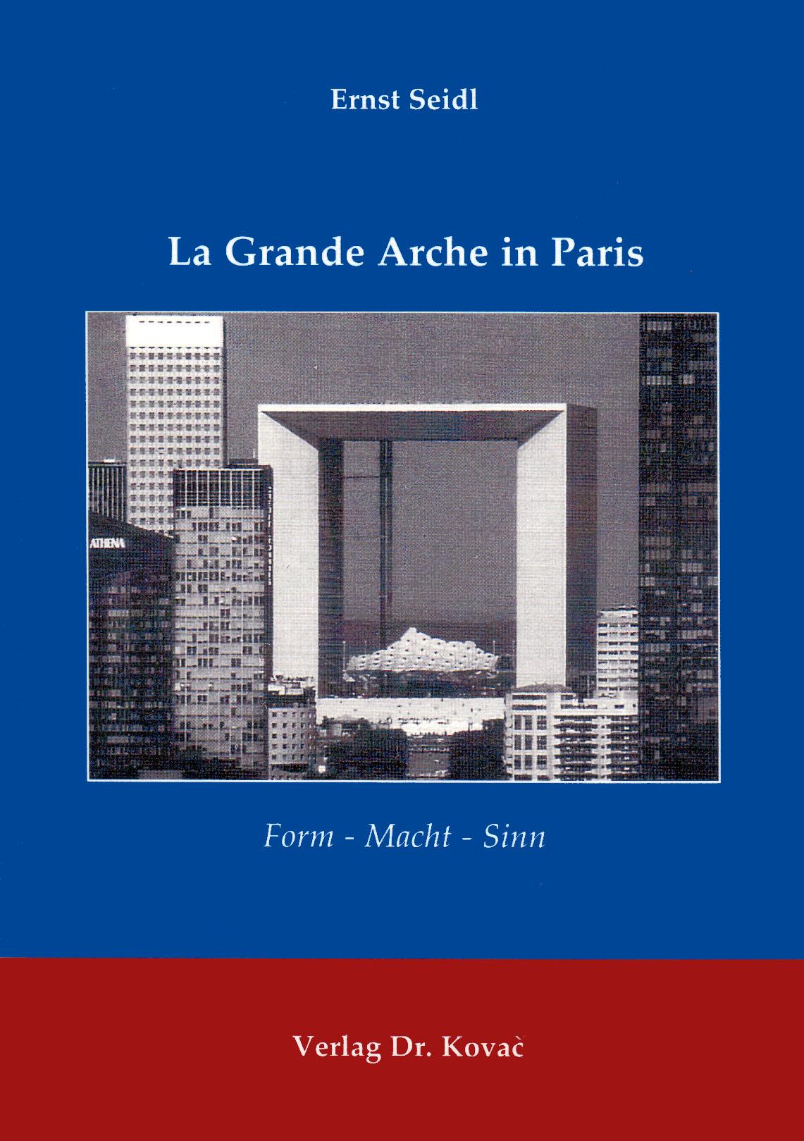Cover: La Grande Arche in Paris