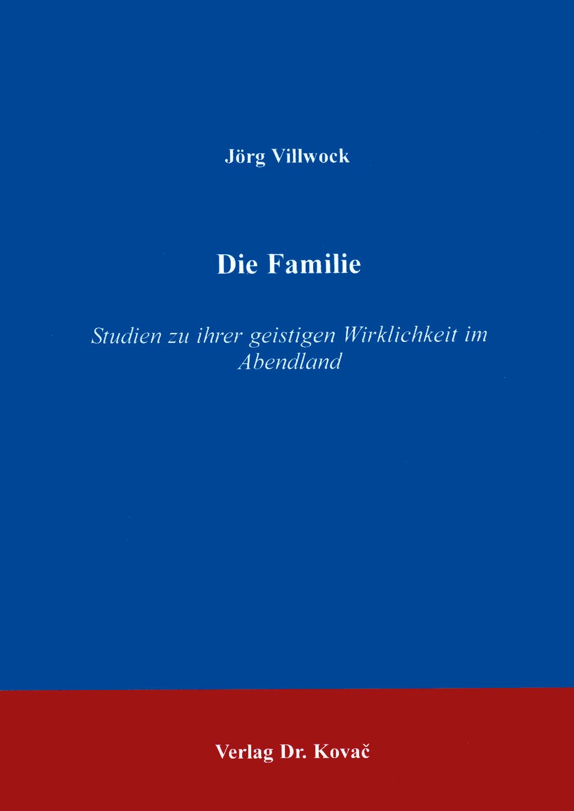 Cover: Die Familie