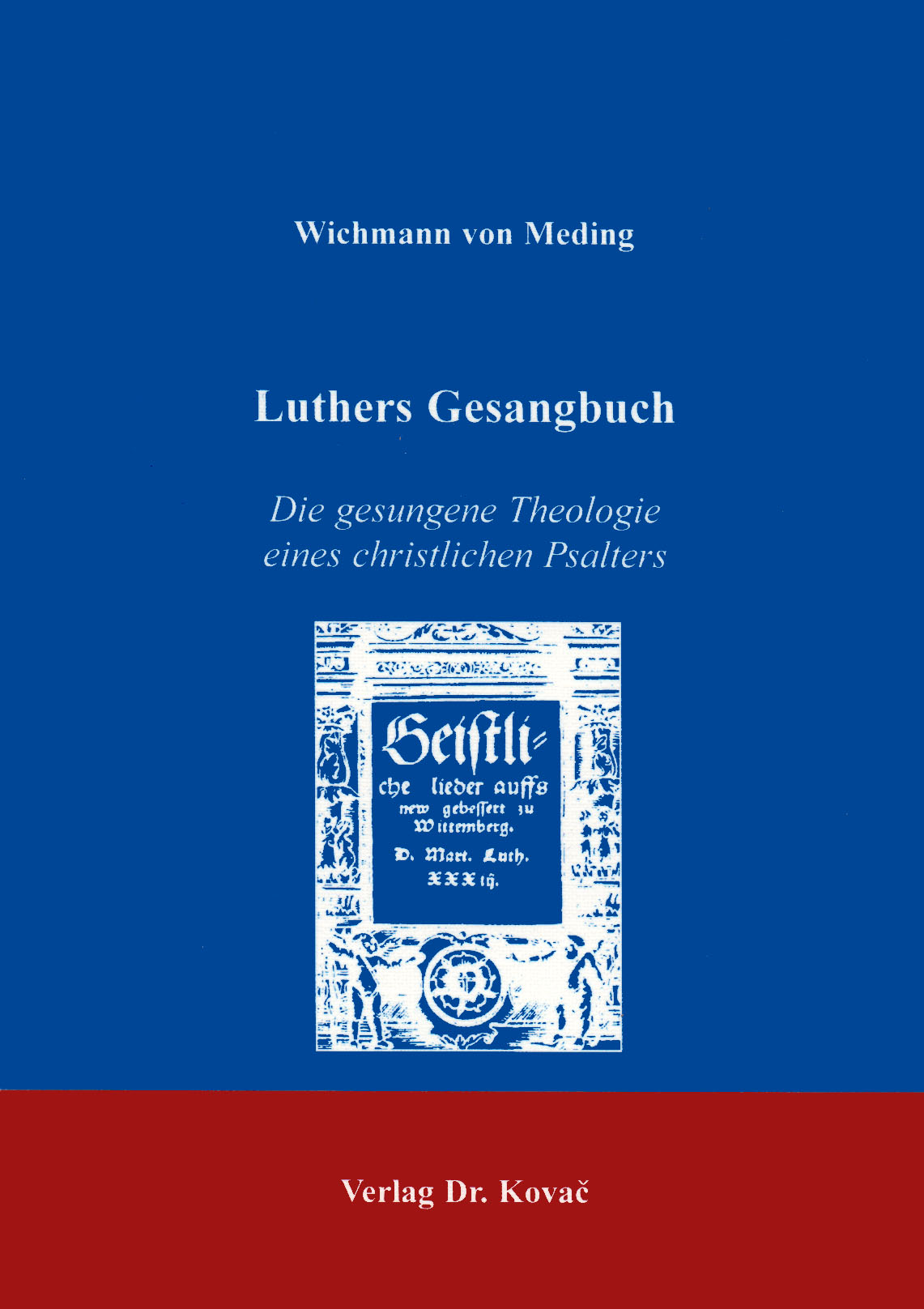 Cover: Luthers Gesangbuch