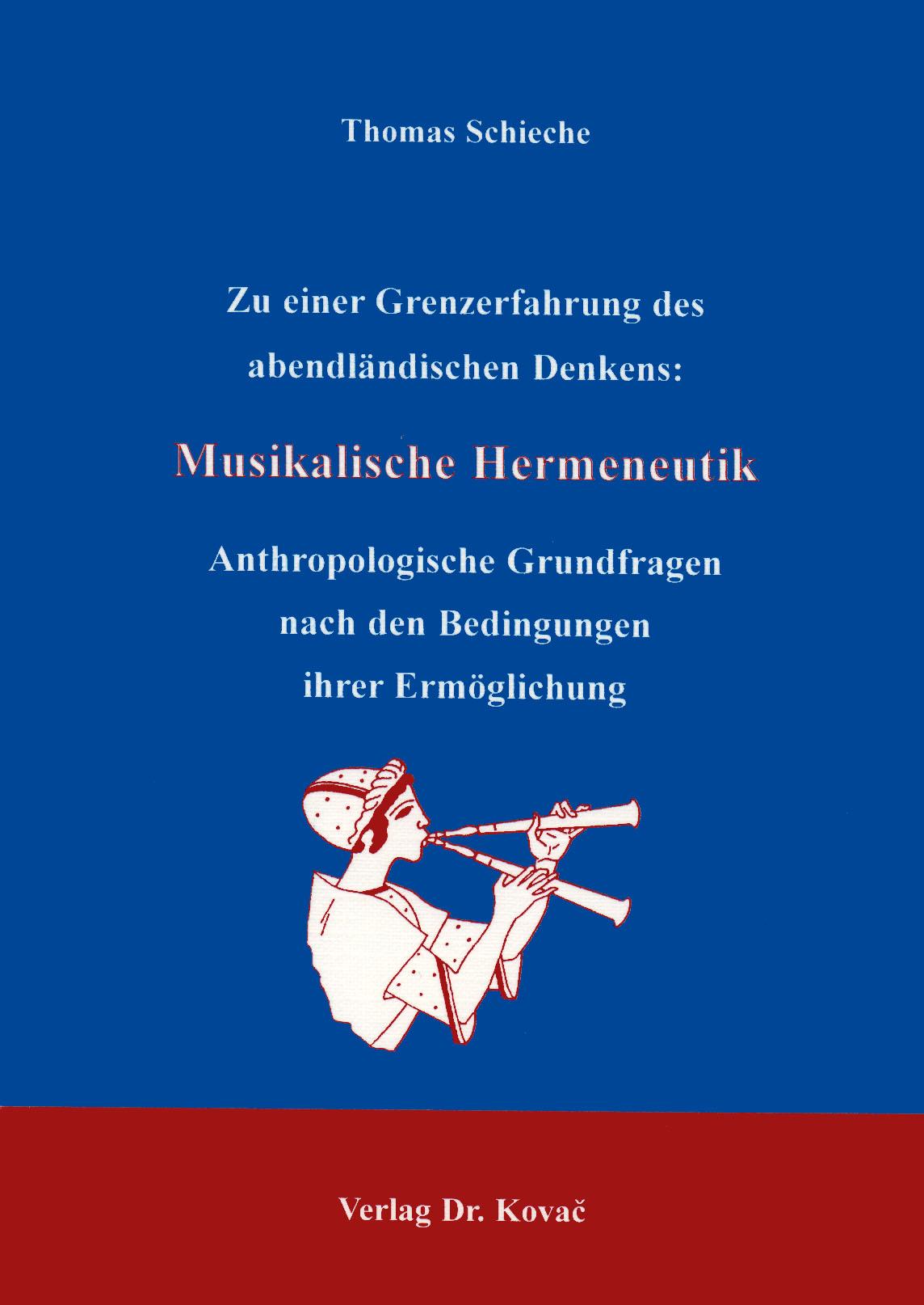Cover: Musikalische Hermeneutik