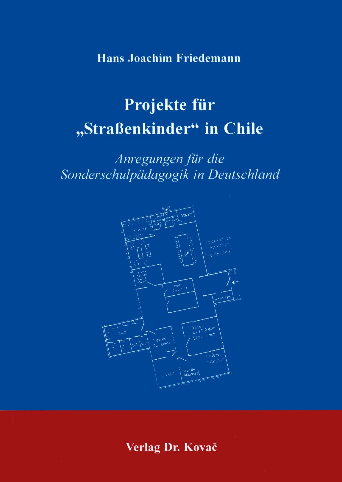 Cover: Straßenkinder in Chile