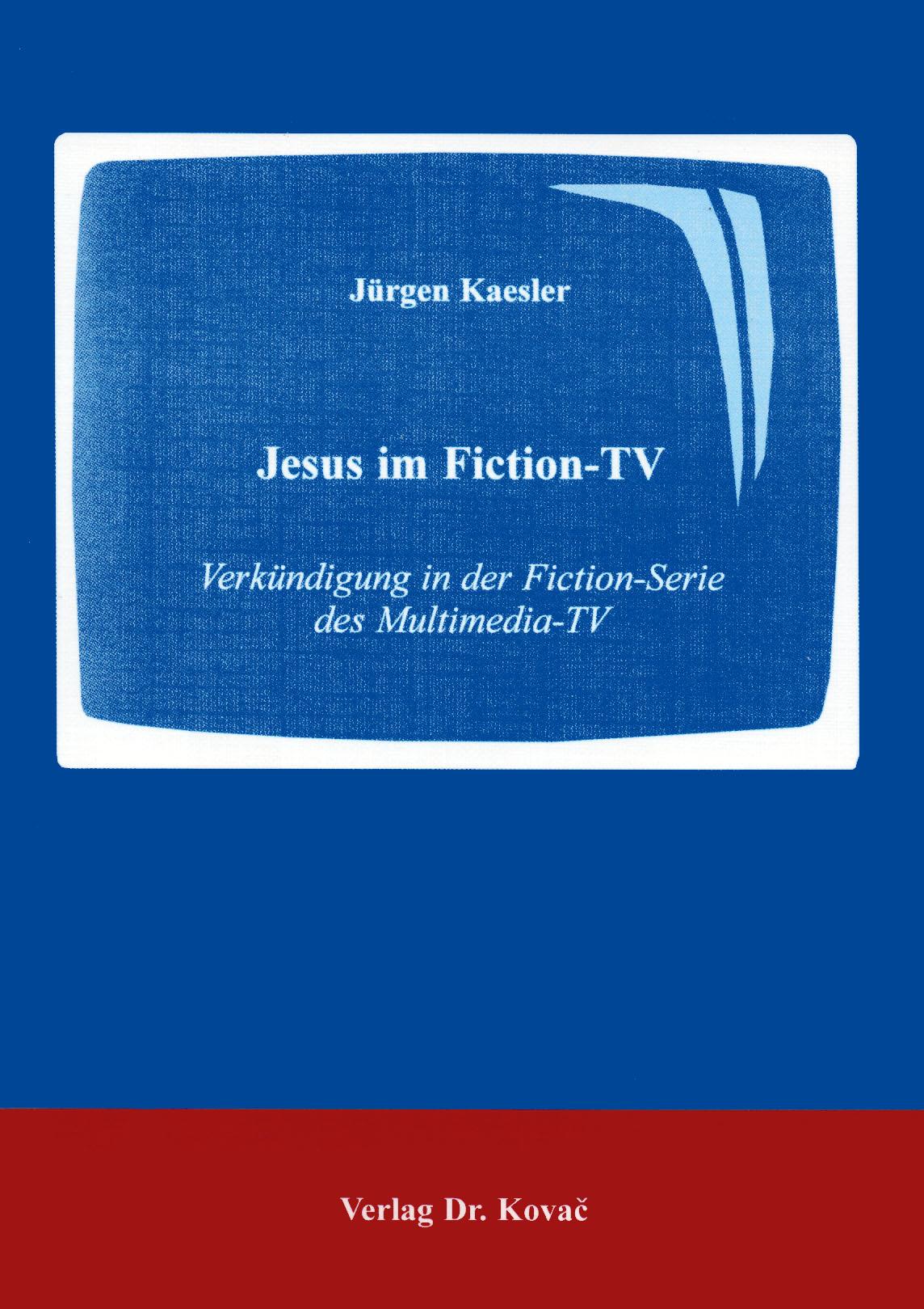 Cover: Jesus im Fiction-TV