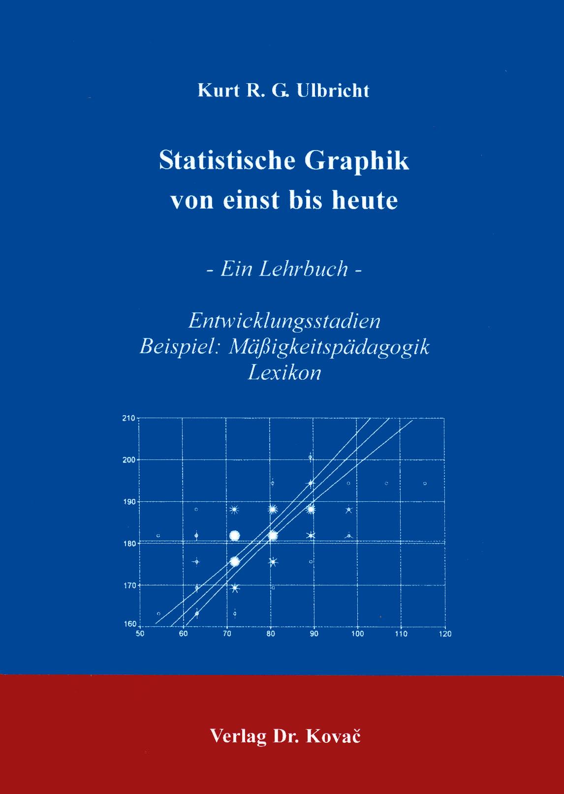 Cover: Statistische Graphik von einst bis heute