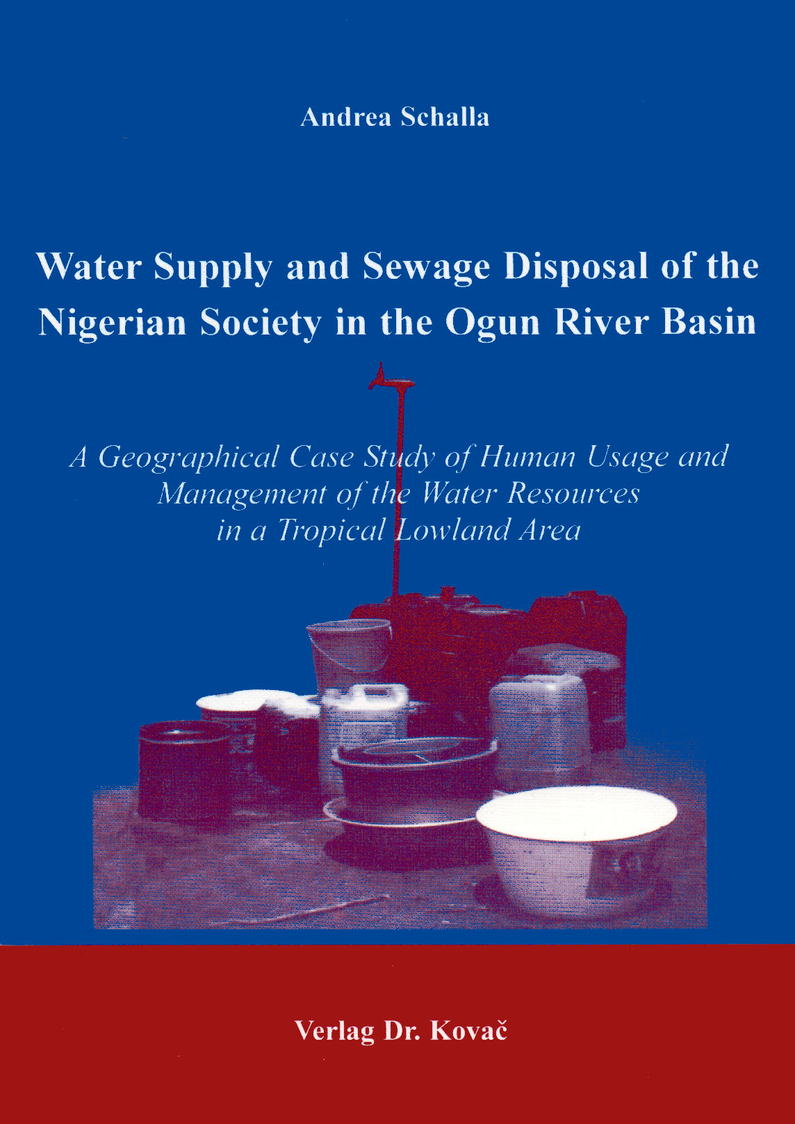 Cover: Water Supply and Sewage Disposal of the Nigerian Society