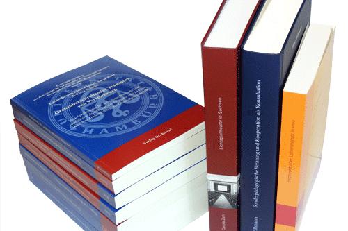 Beispielhafte Auswahl von Büchern aus dem Verlag
