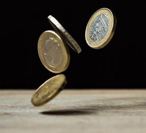 Springende Münzen
