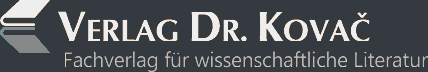 Kleines Logo des Verlag Dr. Kovač