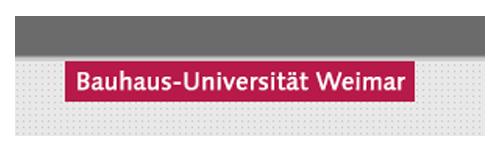 Logo Bauhaus-Uni Weimar 2017